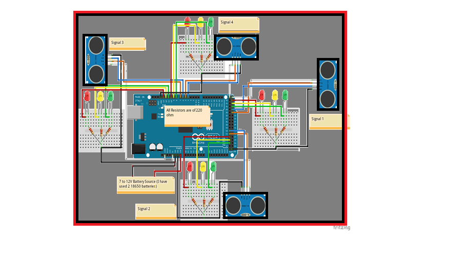 Controlled Traffic Signal with Emergency Exit, traffic light priority control for emergency vehicles