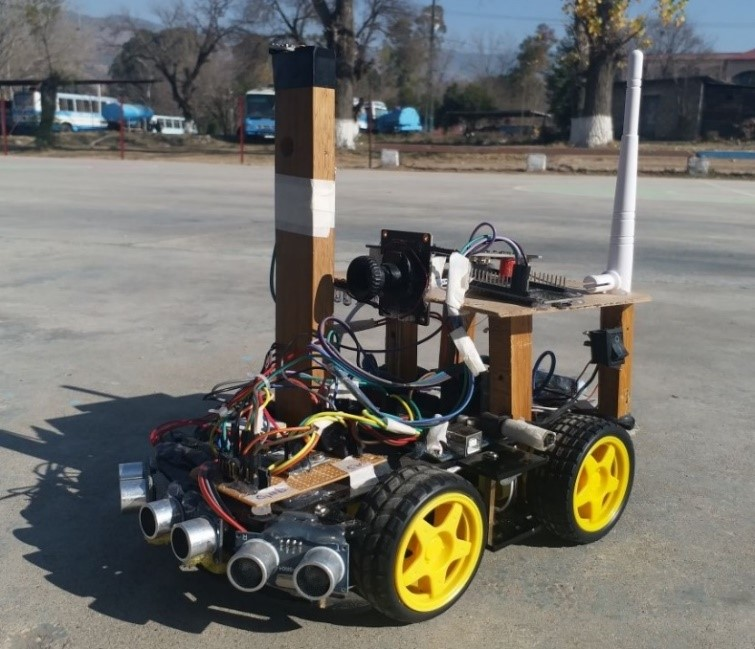 gps guided robot
