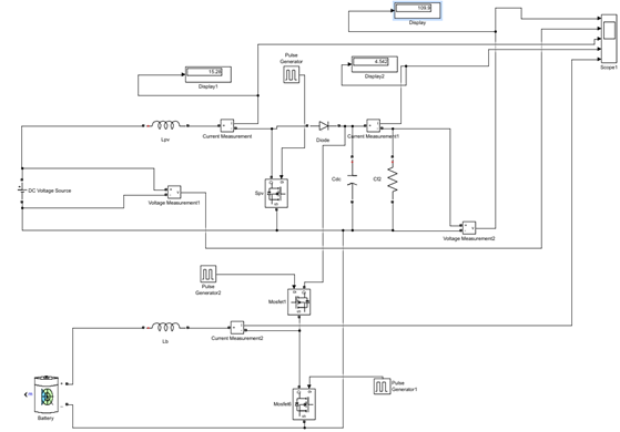 Boost converter with bidirectional dc-dc converter